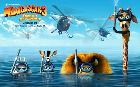 Free Madagascar 3 Characters