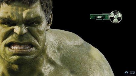 Free Hulk in The Avengers Wallpaper