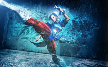 Free Chun Li in Street Fighter