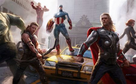 Free The Avengers Characters