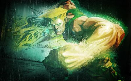 Free Guile in Street Fighter