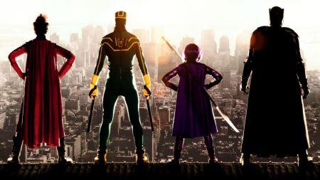 Free Kick Ass 2 Superheroes