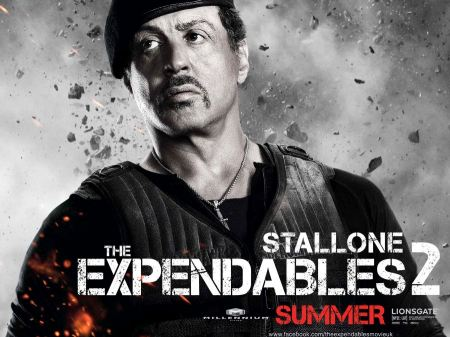 Free Sylvester Stallone in Expendables 2