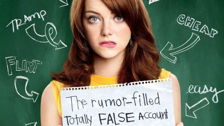 Free Emma Stone Easy A Poster