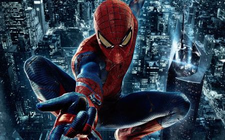 Free The Amazing Spider-Man Flying