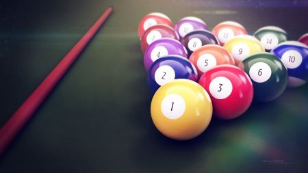 Free Perfect Pool Balls