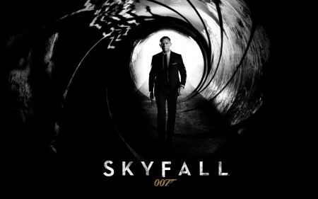 Free Skyfall Black and White