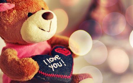 Free Teddy Says I Love You