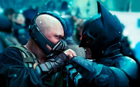Free Bane VS Batman in The Dark Knight Rises