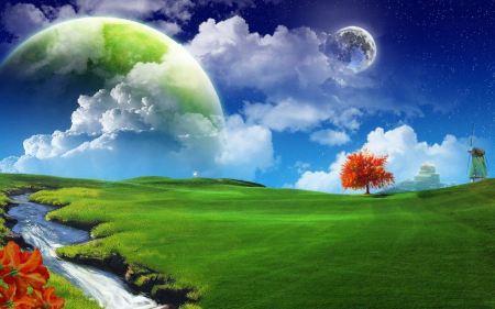 Free Dreamy Landscape