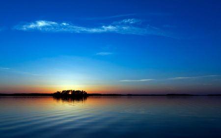 Free Blue Sunset