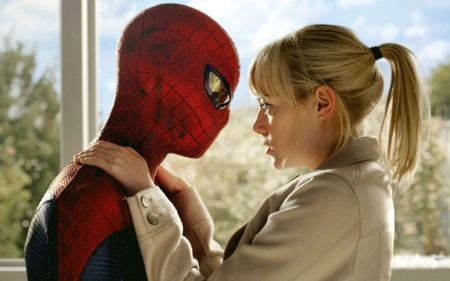 Free Spider Man and Gwen Stacy in The Amazing Spider-Man