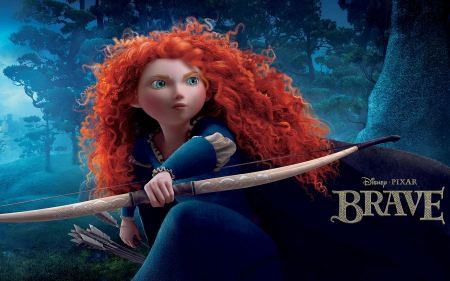 Free Merida in Disney's Brave