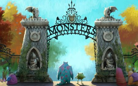 Free Monsters University Wallpaper