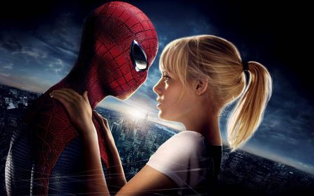 Free The Amazing Spider-Man and Emma Stone