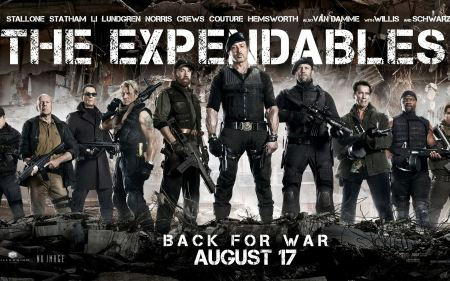 Free The Expendables 2 Cast Wallpaper