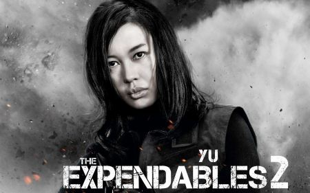Free Yu Nan in The Expendables 2