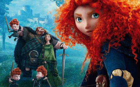 Free Pixar Brave Poster