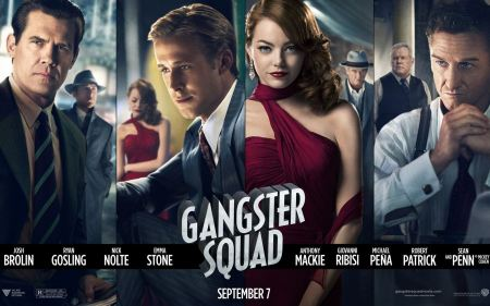 Free Gangster Squad Cast Poster