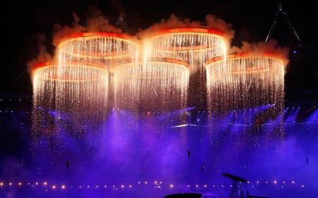 Free Raining from the Olympic Rings