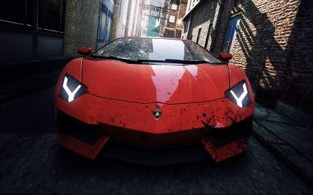 Free Lamborghini 2012 NFS Most Wanted
