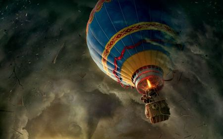 Free Oz The Great and Powerful Hot Air Balloon