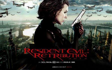 Free Milla Jovovich in Resident Evil 5: Retribution Wallpaper