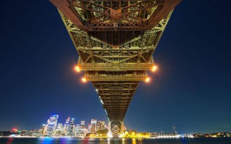 Free Sydney Bay Bridge