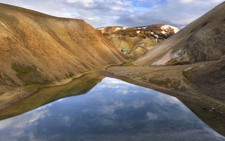 Free Brown Mountains of Iceland