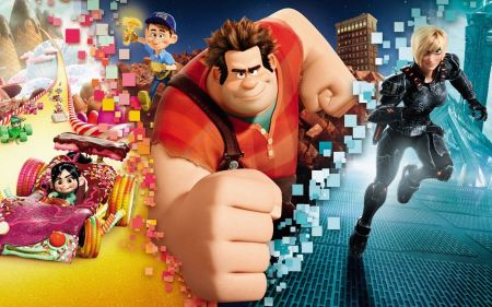 Free Wreck-It Ralph Movie Characters