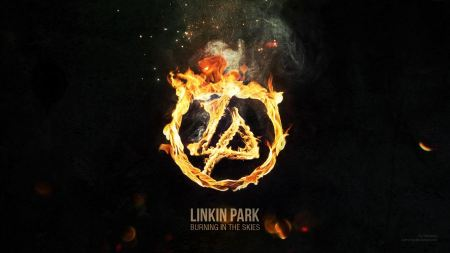 Free Linkin Park Burning in the Skies Fire Logo