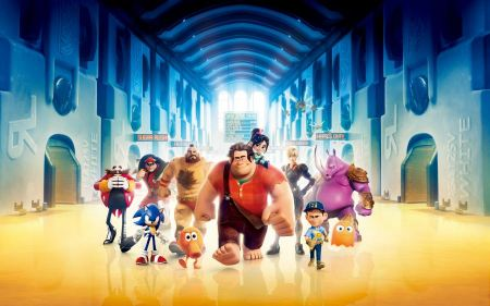 Free Wreck It Ralph 3D Characters Wallpaper