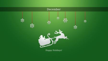 Free Happy December Holidays