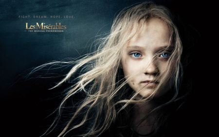 Free Young Cosette in Les Miserables