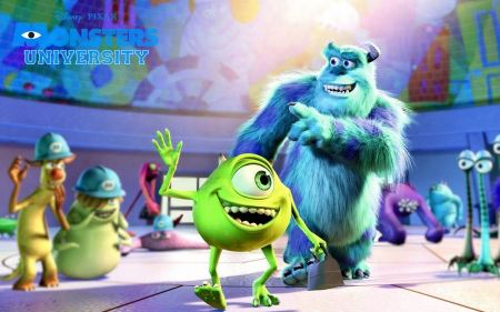 Free Monsters University Mike and Sully