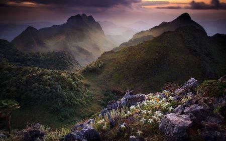 Free Limestone Mountain Thailand Wallpaper