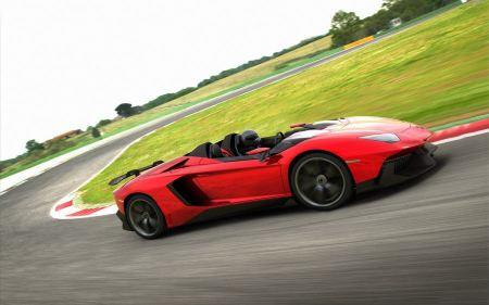 Free Lamborghini Aventador J