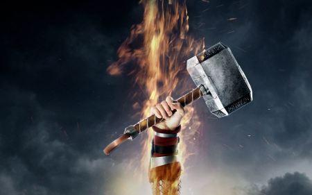 Free Thor 2: The Dark World War Hammer