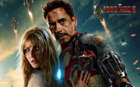 Free Robert Downey Jr and Gwyneth Paltrow in Iron Man 3