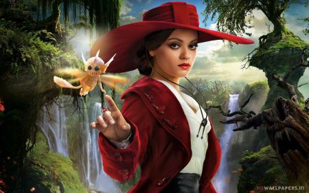 Free Mila Kunis in Oz the Great and Powerful
