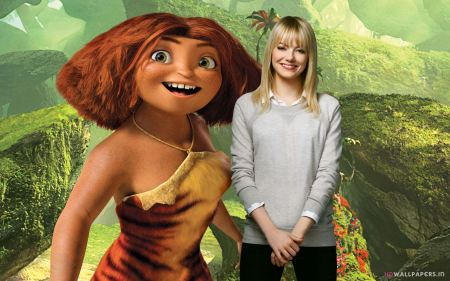 Free Emma Stone as Eep in The Croods