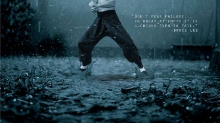 Free motivational quote of Bruce Lee