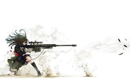 Free Anime Sniper Girl