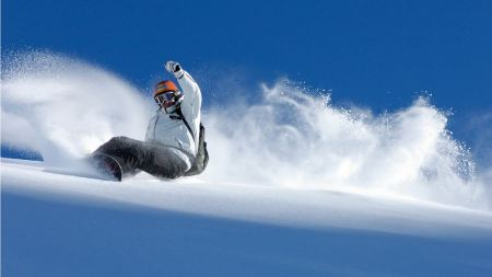 Free Surfing the Snow