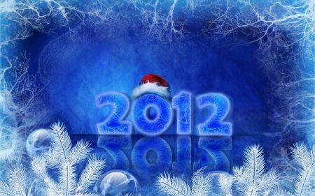 Free 2012 Happy New Year Holidays Wide