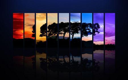 Free Tree Spectrum Wide