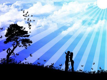 Free Shining in Love