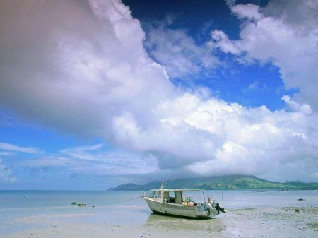 Free Boat on Fiji Coast