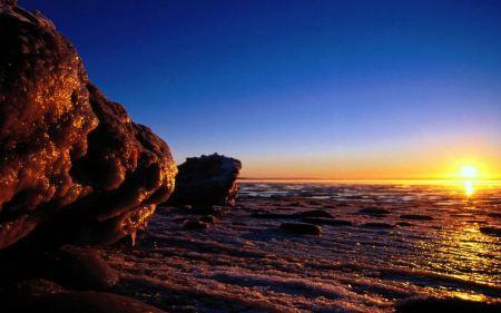Free Peaceful Sunset