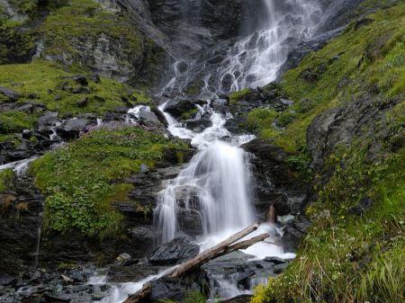 Free Rocky Waterfall